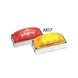 Maxxima / Panor - AX17YB-KIT - Clearance Light, LED, Amber, Rect, 2-7/8 L