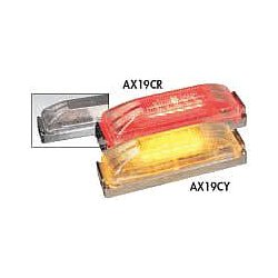 Maxxima / Panor - AX19CR - KIT - Clearance Light, LED, Red, Surf, Rect, 4 L