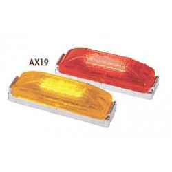 Maxxima / Panor - AX19RB-KIT - Clearance Light, LED, Red, Surf, Rect, 4 L