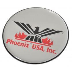 Phoenix Textile Industries - CLPH275 - Logo, Silver Phoenix
