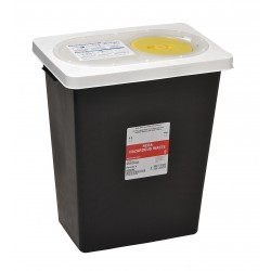 Covidien - KRCR100608 - Hazardous Waste Container, 17-3/4 In. H
