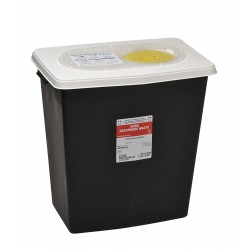 Covidien - KRCR100612 - Hazardous Waste Container, 18-3/4 In. H