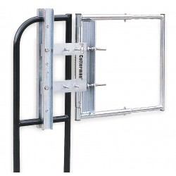 Cotterman - AG2440ZC1P1R - Safety Gate, AG, 24 to 40 In, Steel
