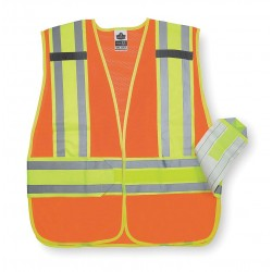 Ergodyne - 21384 - Glowear 8240hl Cls 2 Expandable Vest Orange M/l