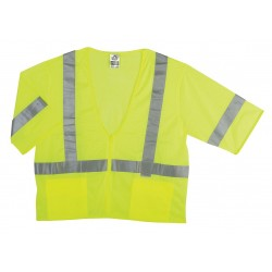 Ergodyne - 22125 - High Visibility Vest, Class 3, L/XL, Lime