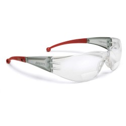 Elvex - RX-401-3.0 - Clear Scratch-Resistant Bifocal Safety Reading Glasses, +3.0 Diopter