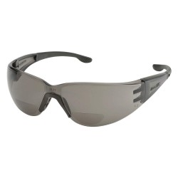 Elvex - RX-401G-1.5 - Gray Scratch-Resistant Bifocal Safety Reading Glasses, +1.5 Diopter