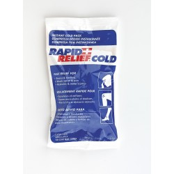 Rapid Aid - 31259-24 - 9 x 5 White/Blue Instant Cold Pack, 1EA