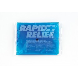 Rapid Aid - 12246-24 - 6 x 4 Blue Reusable Cold/Hot Pack, 1EA