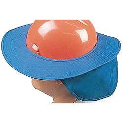 Occunomix - 898-028 - OccuNomix Blue Cotton Hard Hat Shade, ( Each )
