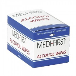 Medique - 3VAL6 - Alcohol Pads, 2 x 1-1/8 Packet