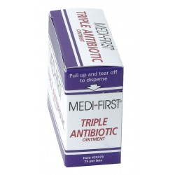 Medique - 22373 - Triple Antibiotic Ointment, 0.5g Packet