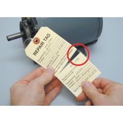 Electromark - T405 - Cardstock Repair Tag Repair Tag, 5-3/4 Height, 2-7/8 Width