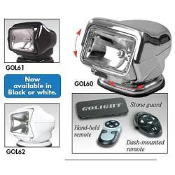 Golight - 3066 - Spotlight, Dual Remote, Chrome