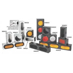 Buyers - 3VPY8 - Truck Light Mounting Cabinet