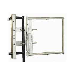 Cotterman - AG2440SP1R - Safety Gate, AG, 24 to 40 In, SS