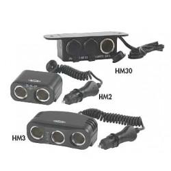 Hamsar - 3VTE6 - MultiSocket, 3 Outlet, Hardwired