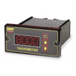 Dart Controls - DM8000 - DM8000 - Dart Controls Dual Voltage Programmable Digital Tachometer Field programmable digital tachometer for shaft speeds as low as 1 RPM