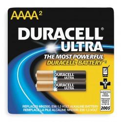 Duracell - MX2500B2U - Battery, Alkaline, AAAA, PK 2