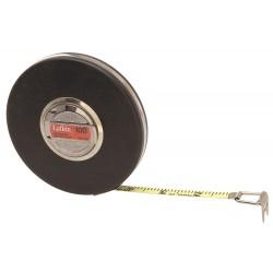 Lufkin - HW226D - 100 ft. Steel SAE Engineers Long Tape Measure, Brown