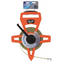 Lufkin - PS1809DN - 300 ft. Steel SAE Engineers Long Tape Measure, Black/High Visibility Orange