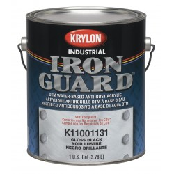 Krylon - K11004991 - Gloss Safety Orange Interior/Exterior Paint, 1 gal.