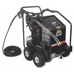 MI-T-M - GH-2403-0GAH - Medium Duty (2000 to 2799 psi) Gas Cart Pressure Washer, Hot Water Type, 2.6 gpm, 2400 psi