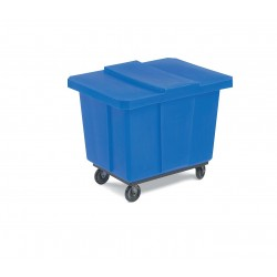 "Bayhead - UT-8 BLUE - Cube Truck, 3/8 cu. yd. Volume Capacity, 400 lb. Load Capacity, 24-1/4"" Overall Width"