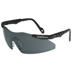 Smith & Wesson - 19824 - Smith Wesson Magnum 3G Mini Scratch-Resistant Safety Glasses, Smoke Lens Color