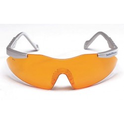 Smith & Wesson - 19829 - Smith Wesson Magnum 3G Scratch-Resistant Safety Glasses, Orange Lens Color