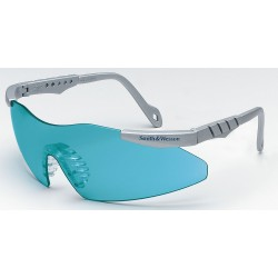 Smith & Wesson - 19830 - Smith Wesson Magnum 3G Scratch-Resistant Safety Glasses, Teal Lens Color
