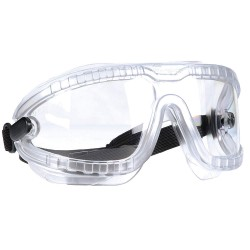 3M - 16644-00000-10 - Eyewear Lexa Splash Goggle Gear Clear Frame Clear Lens Medium Dx Coating Ansi Z87.1 Csa Z94.3 Ao Safety Aearo, Ea