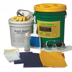 Acid Eater - 1006-001 - Battery Acid Spill Kit, Neutralizes Battery Acid, Granular, 5 gal.