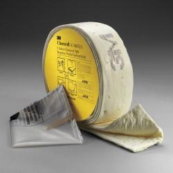 3M - C-SKFL5 - Spill Kit Chemical Folded Chemroll 5 Gal Polypropylene 3m, Ea