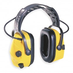 Howard Leight / Honeywell - 1010376 - Electronic Ear Muff, 23dB, Over-the-H, Yel