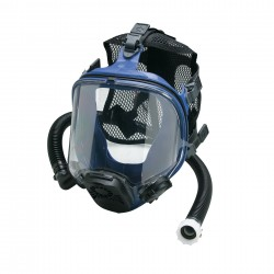 Allegro - 9902 - Full Face Respirator, 5 Point Mesh Suspension, Universal