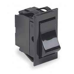 Carling - TIGK54-6S-BL-NBL - Rocker Switch, Contact Form: DPST, Number of Connections: 4, Terminals: Screw