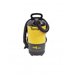 PacVac - PV 6 - 1-1/2 gal. Backpack Vacuum, 120 cfm, 1-1/2 HP, 12 Amps, HEPA Filter Type
