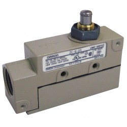 Omron - ZE-Q-2S - Plunger General Purpose Limit Switch; Location: Top, Contact Form: SPDT, Standard Movement