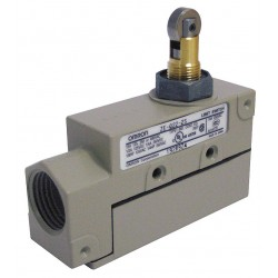 Omron - ZE-Q22-2S - Plunger, Roller General Purpose Limit Switch; Location: Top, Contact Form: SPDT, Standard Movement
