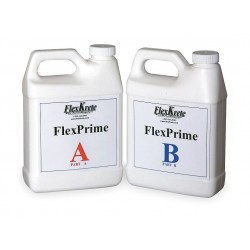 FlexKrete - FKPRIMER-QT - (2) 1-qt. Bottles Primer, Concrete with 2 hrs. Dry Time, Clear