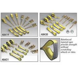 B/A Products - 38-200-S - Tie-Down Strap, Ratchet, 3330 lb.10, 000 lb