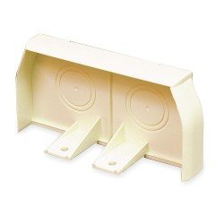 Legrand Group - 40N2F20V - PVC End Cap For Use With 40N2 Raceway, Ivory