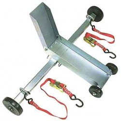 B/A Products - 21-5 - Motorcycle Dolly W/ Straps