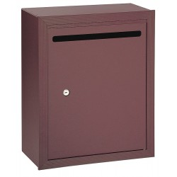Salsbury Industries - 2240ZP - Letter Box, Bronze, Surface