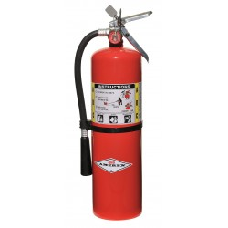 Amerex - B456 - Dry Chemical Fire Extinguisher with 10 lb. Capacity and 20 sec. Discharge Time