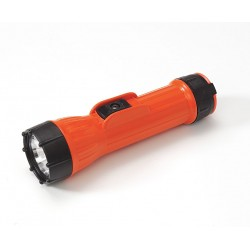 Bright Star - 2124 - Industrial Incandescent Handheld Flashlight, Plastic, Orange