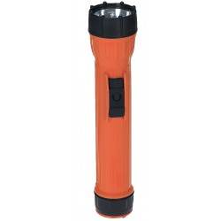 Bright Star - 2224 - Industrial Incandescent Handheld Flashlight, Plastic, Orange