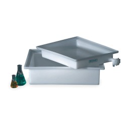 Bel-Art - 162700000 - TRAY W/O FAUCET PE - 12X16X3IN (Each)