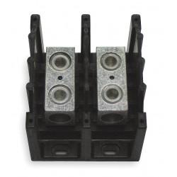 Cooper Bussmann - 16303-2 - Eaton/Bussmann Series 16303-2 Splicer Terminal Block, 2-Pole, Single Primary - Single Secondary